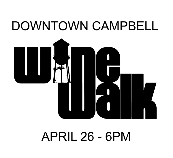 Downtown Campbell Spring 2017 Wine Walk