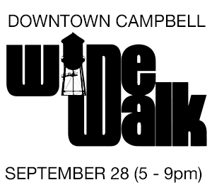 Downtown Campbell Fall 2016 Wine Walk