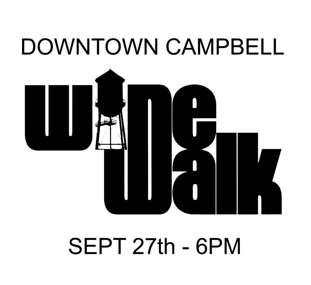 Downtown Campbell Fall 2017 Wine Walk