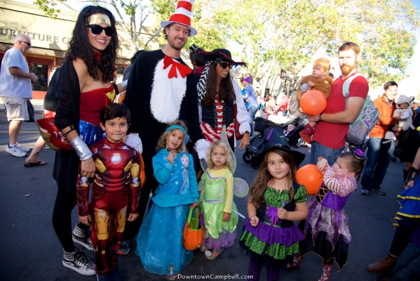 Halloween Trick-or-Treat in Downtown Campbell 2017 | Downtown Campbell