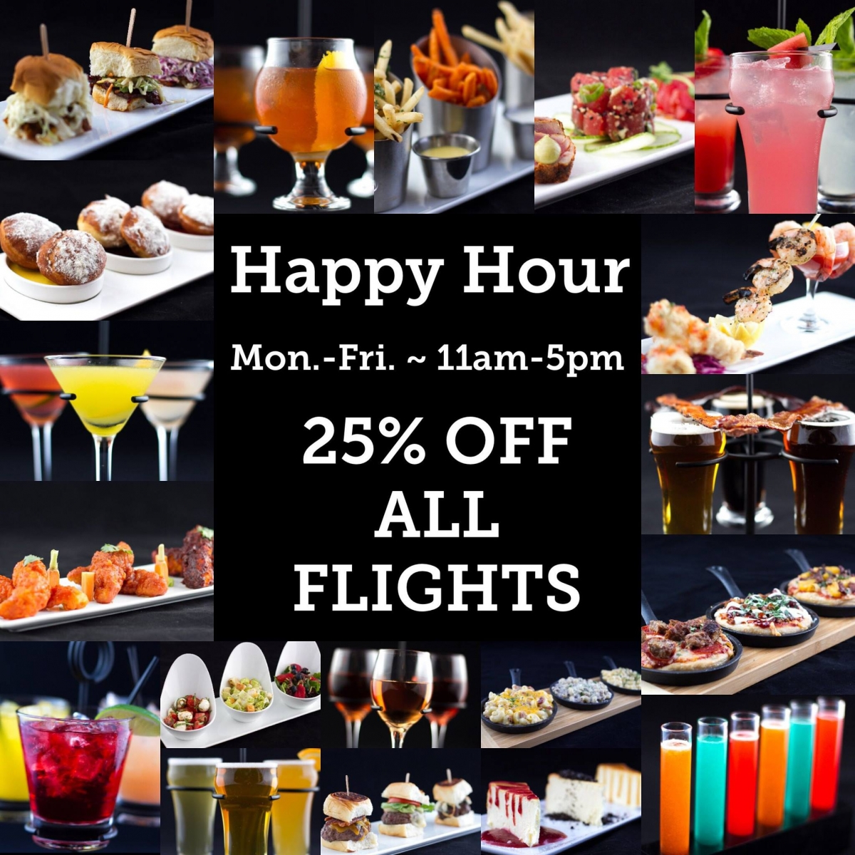 M F Happy Hour At Flights Restaurant Downtown Campbell