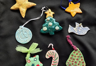 Make Clay Christmas Ornaments Downtown Campbell