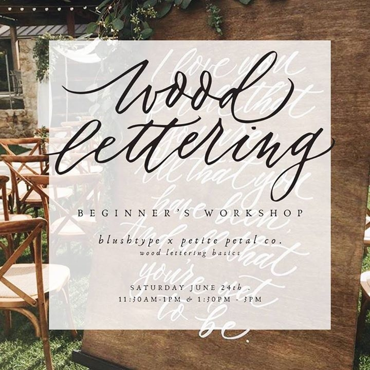for a super fun class where you learn how to hand letter on wood and ornaments first sheryl yen of blushtype will teach the basics of hand lettering