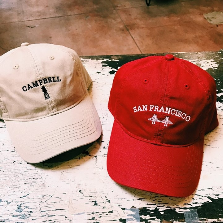 on sale 0d37c 3c7f0 Therapy now has Campbell baseball caps along with other custom caps  celebrating other communities we re located in. All of these hats are a  Therapy ...