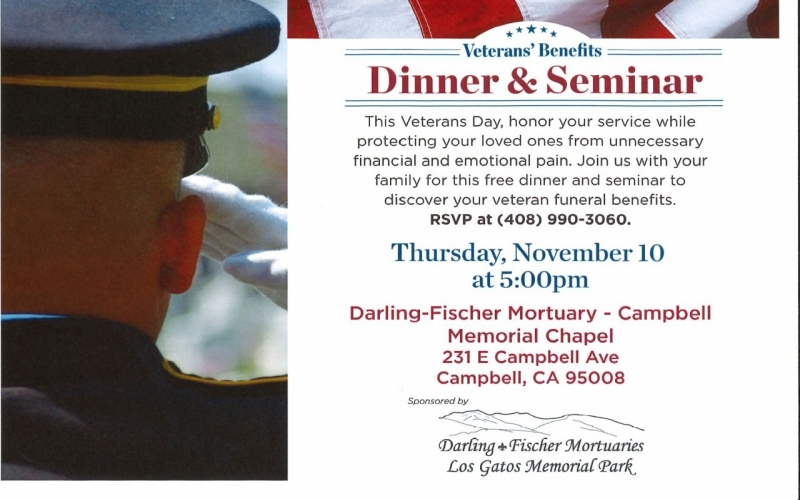 Veterans' Benefits- Dinner and Seminar | Downtown Campbell